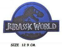 Jurassic World Movie Dinosaur Embroidered Iron On Sew On Patch Badge MOVIE