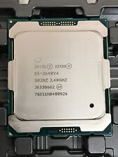 Intel Xeon E5-2640V4 2.40GHz 10-Core Processor 25MB Cache 8 GT/s 90W SR2NZ