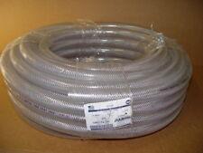 "New Age 1001154-100 TUBING, NYLOBRADE CLEAR REINFORCED PVC HOSE 1"" ID 1.299"" OD"