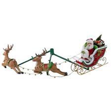 New Katherine's Collection Night Before Christmas Santa Sleigh Reindeer 28828322