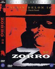 ZORRO (1975) Alain Delon / Stanley Baker DVD NEW (SPANISH) *FAST SHIPPING*