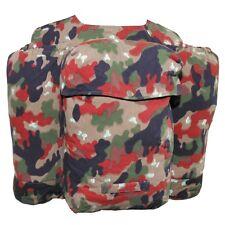 MFH svizzero Piccolo Zaino m70 alpentarn Zaino Backpack Zaino USATO