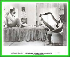 "SOPHIA LOREN & MARCELLO MASTROIANNI in ""Yesterday, Today and Tomorrow"" Orig.1964"