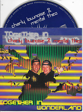 CHARLY LOWNOISE & MENTAL THEO - Together in Wonderland CDS 2TR Happy Hardcore