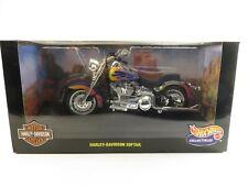 Hot Wheels Collectibles Harley-Davidson Softail 1:10 1999 New!