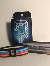Medium ZOX GOLD Strap RADIATE Wristband with Card Reversible White Star 🔥
