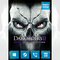 Darksiders II 2 Deathinitive Edition for PC Game Steam Key Region Free