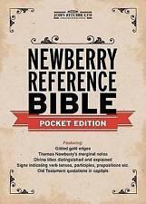 Newberry riferimento BIBBIA edizione Pocket di Thomas Newberry (in pelle/bene.
