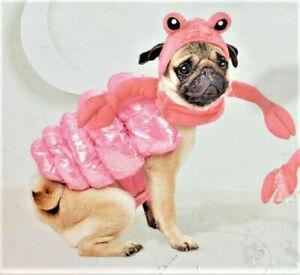 HYDE & EEK HALLOWEEN Dog Puppy Costume 2 Piece Hermit Crab Size XS