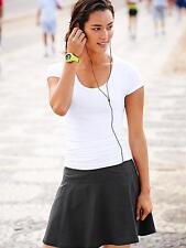 Athleta Everyday Skort, Yoga Fitness Skirt, Sz 6, Black, NWT