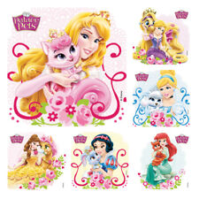 Princess Palace Pets Stickers x 6  Birthday Party Supplies Favours Loot Disney