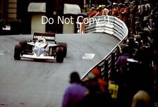 Nelson Piquet Brabham BT52 Monaco Grand Prix 1983 Photograph 6