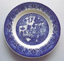 Walker - Alco Blue Willow Bread Butter Plate Vitrified China, Hotel Ware
