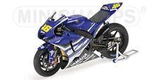 MINICHAMPS 122 073156 YAMAHA YZR M1 model bike V Rossi TEST Jerez 2007 1:12th