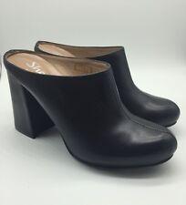 Shellys London Kylie Eu 37 US 6.5 Black Leather Mules
