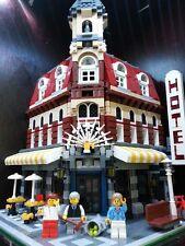 LEGO 10182 Cafe Corner, alle Teile 100% komplett! Wie NEU!!!