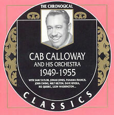 CAB CALLOWAY 1949-55-CLASSICS CD NEW SEALED LONG OUT OF PRINT
