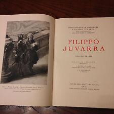 """FILIPPO JUVARRA"" TORINO 1937 ARTE ARCHITETTURA REGESTO OPERE - PREZIOSO RARO"