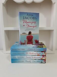 Collection of 5 x Paperback Romance Saga Books - Anna Jacobs, Marrying A  - NEW