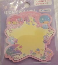 Sanrio Little Twin Stars Sticky Notes Extra Sticky Star