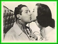 "HEDY LAMAR & ROBERT CUMMINGS in ""Let's Live a Little"" Original Vint. Photo 1948"