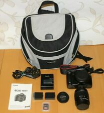 Canon EOS 1100D 12.2MP SLR Camera + Kit with EF-S 18-55mm III + 32gb + Canon Bag