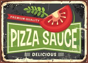 Reproduction 'Vintage Pizza Sauce' Poster