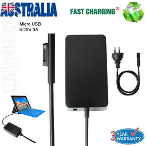 For Microsoft Surface Pro 3 4 5 2017 1796 36W Power Adapter Charger 1706 New AU