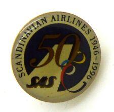 Pin Spilla Compagnia Aerea - Scandinavian Airlines 50° Anniversario 1946-1996