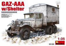 MiniArt Allemand GAZ-AAA w/Shelter avec Avec bordures Kit de montage Kit 1:35