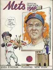 New York Mets 1968 Official Team Yearbook