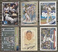 🏆 WS MVP Corey Seager 6-CARD LOT including ROOKIE 2016 Bowman #150, LA Dodgers