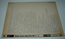 Ersatzteilkatalog auf Microfich VW Passat 32B B2 synchro Allrad 1985 - 1988!