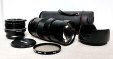 SONY NEX E Mount DSLR fit 200mm 400mm Tele Portrait lens NEX-5 3 F5 5R 6 VG20 +