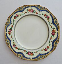 """Vintage 1920's Crown Ducal Floral Patent # 72944 Dinner Plate 10¼"""" RARE! #2"""