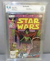 STAR WARS #67 (White Pages) CBCS 9.6 NM+ Marvel Comics 1983 cgc