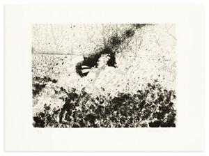 GIUSEPPE BANCHIERI (1927-1994) Opera grafica Quadro Litografia FIRMA A MATITA