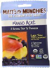 Organic Fruit Snacks, MATTS MUNCHIES, 12 pack Mango Acai