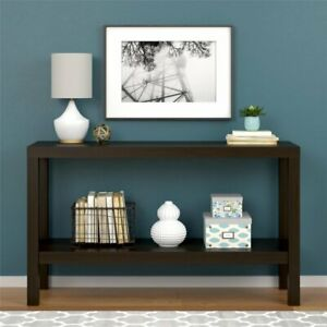 Parsons Console Table, Multiple Colors Available - Expresso