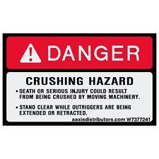 """Crushing Hazard 3"""" x 5"""" 2-Pack *NEW*"""