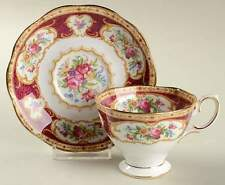 Royal Albert LADY HAMILTON Demitasse Cup & Saucer 6511031