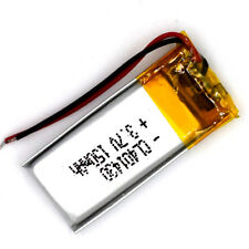 3.7 V 150mAh 401430 Li-Polymer Rechargeable Battery Liion LiPo Cell for GPS MP3
