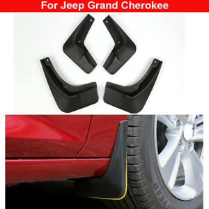 New 4pcs Plastic Tire Splash Guards Mud Flaps For Jeep Grand Cherokee 2013-2021