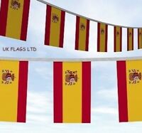 Huge 10 Metres Spain Spanish Bandera de España Flags Bunting