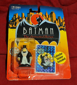 ERTL Batman: The Animated Series THE PENGUIN Diecast figure On Card