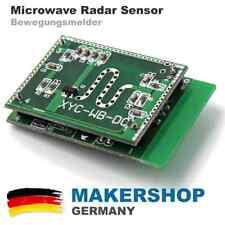 Radar Sensor Mikrowelle XYC-WB-DC Arduino Raspberry Pi Bewegungsmelder 5.8 Ghz