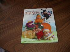 """Crochet """"Lots To Love"""" Cute As Pie Size 5"""" Doll Clothes 7 Projects 2013 New"""