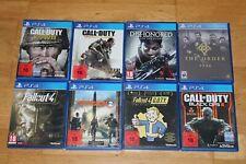 8 Spiele für die Sony Playstation 4 - Spielesammlung