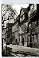 HILDESHEIM AK Häuser Partie Hinterer Brühl 50/60er Jahre alte Ansichtskarte