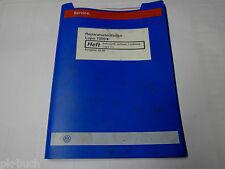Werkstatthandbuch VW Lupo Fahrwerk Achsen Lenkung 3L Stand 05/1999